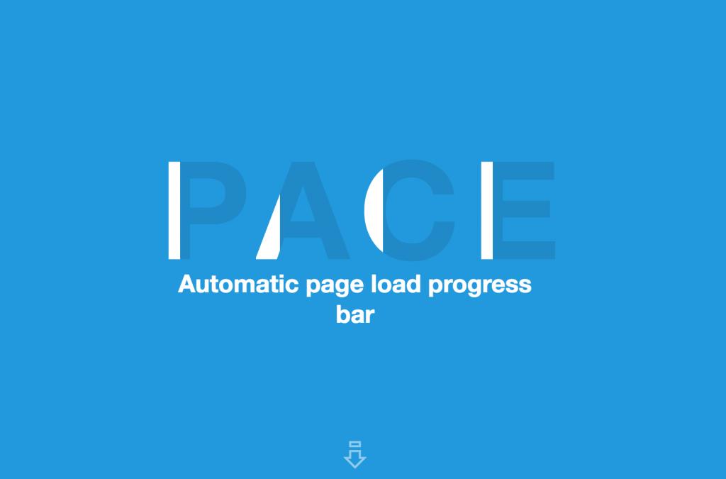「【PACE】色々なローディングアニメーションのプログレスバーを簡単に実装できるjQueryプラグイン」のイメージ