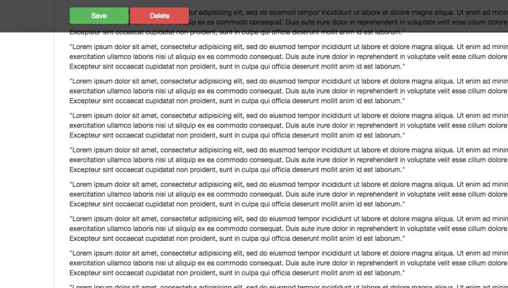 「【Fitbar】スクロールしても画面上に固定表示されるエリアを設置できるjQueryプラグイン」のイメージ