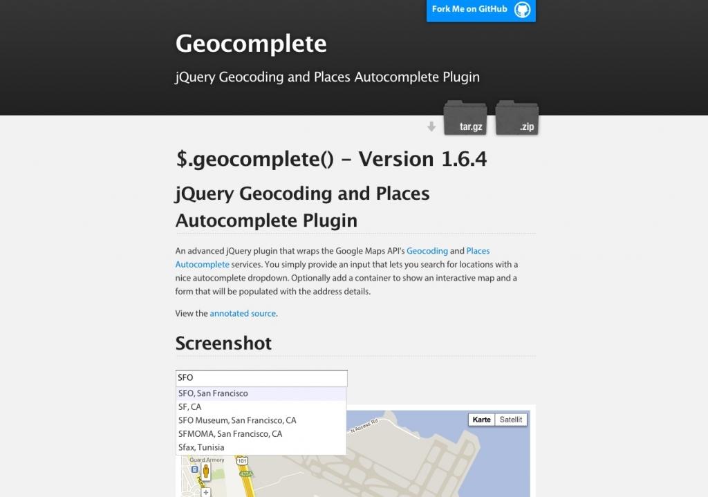 「【Geocomplete】検索できるGoogleマップを設置したケースで住所検索をオートコンプリートをしてくれるjQueryプラグイン」のイメージ